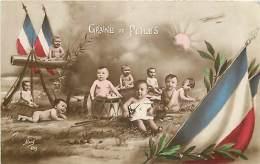 MILITARIAT  GRAINE DE POILUS LES  BEBES - Patriotiques