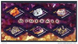 ROMANIA 2006 Minerals Block MNH / **.  Michel Block 383 - 1948-.... Republics