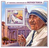 Maldives 2017 20th Memorial Anniversary Of Mother Teresa - Mother Teresa