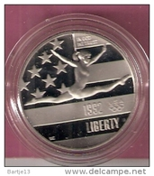 AMERIKA  1/2 DOLLAR 1992P CN PROOF FEMALE GYMNAST - Non Classés