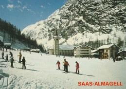 SAAS-ALMAGELL  SKIFAHRERS - VS Valais