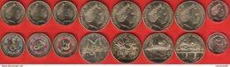 """Australia Set Of 8 Coins: 1 Cent - 2 Dollars 2017 """"Possum Magic"""" UNC - Australie"""