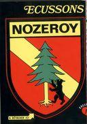 Ecusson Adhésif  Nozeroy - Jura - Ecussons Tissu