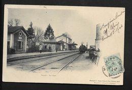 Gare De Nangis  - Provins Melun - CPA Seine Et Marne 77 - Nangis