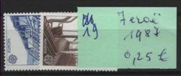 19   - Feroe Les 2 V De 1987 - 1987