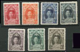 Surinam  **  N° 114 à 117 - 118A - 119 - 120 - Surinam