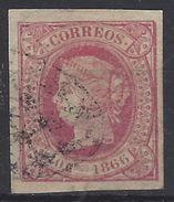 Isla De Cuba U 016 (o) Isabel II. 1866 - Cuba (1874-1898)