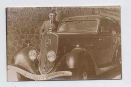 Peugeot 301D 1936.  Carte Photo. - Passenger Cars