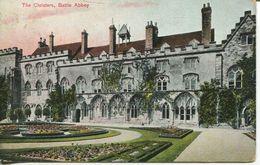 The Cloisters, Battle Abbey 1910 (001585) - England