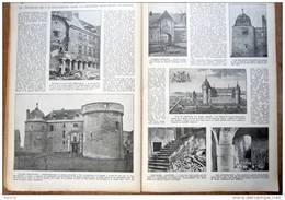"""Magazine Avec Article """"Le Château De Lavaux-Sainte-Anne (Rochefort)"""" 1933 - Collezioni"""