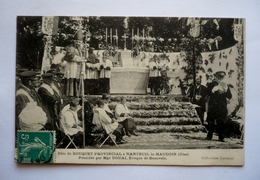 60 - Fête Du Bouquet Provincial à NANTEUIL-LE-HAUDOUIN Présidée Par Mgr DOUAI évêque De BEAUVAIS - Archerie - Tiro Al Arco