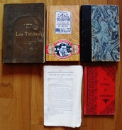 LOT 4 LIVRES LES TABACS,TRAITE DE LA PIPE,CIGARE,TABATIERE,BULLETIN DES LOIS1839 - Books, Magazines, Comics