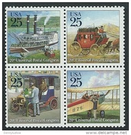 US 1989   Sc#2437a UPU Block Transportation  MNH** - United States