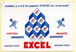 Buvard Margarine Excel, Cuisine Et Dessert. - Blotters