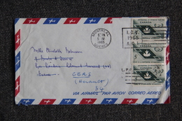 Lettre De MONTREAL à CERS ( FRANCE). - 1952-.... Regno Di Elizabeth II