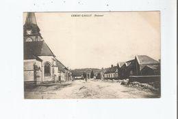 CERISY GAILLY (SOMME) EGLISE ET HABITATIONS - France
