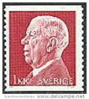 ZWEDEN 1972 1kr Gustaf VI PF-MNH - Schweden