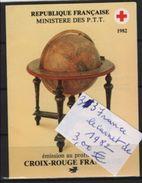 33  --france Le Carnet De 1982 - Cruz Roja