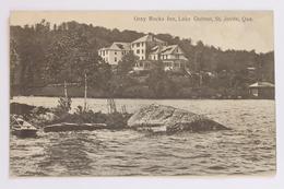 Gray Rocks Inn, Lake Ouimet / Lac Ouimet, St. Jovite, Quebec, Canada - Quebec