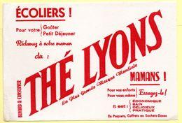 Buvard Thé Lyons. - Café & Thé