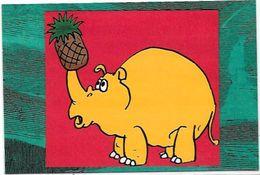CPM Rhinocéros Non Circulé - Rhinocéros