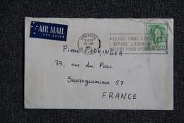 Lettre D'AUSTRALIE à FRANCE - 1966-79 Elizabeth II