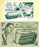 2 Buvards Palmolive - Parfum & Kosmetik