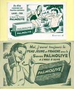 2 Buvards Palmolive - Perfume & Beauty