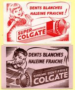 2 Buvards Dentifrice Colgate - Parfums & Beauté