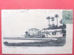 Brésil ,rio De Janeiro ,praia Do Russel  En 1904.....timbres Et Cachets - Rio De Janeiro