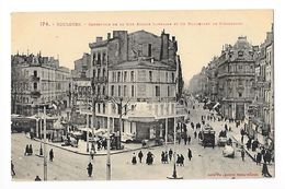 TOULOUSE  (cpa 31)  Carrefour De La Rue Alsace-Lorraine Et Du Boulevard De Strasbourg -   - L 1 - Toulouse