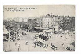 TOULOUSE  (cpa 31)   Boulevard De Strasbourg Et Allées Jean Jaurès-   - L 1 - Toulouse