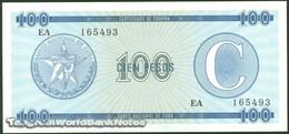 TWN - CUBA FX25 - 100 Pesos 1985 Serie C - Prefix EA UNC - Cuba