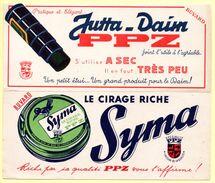 2 Buvards Cirage Syma Et Jutta-daim PPZ - Paints
