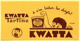 Buvard Kwatta, Chocolat à Tartiner. - Cake & Candy