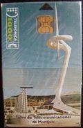 CP 10 INTALACIONES TELEFONICA (TORRE DE MOTJUIC) NUEVA CON PRECINTO - A024 - Conmemorativas Y Publicitarias