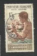 POLYNESIE   = TIMBRES  POSTE AERIENNE  N° 1- 5 - 7 - 8 -9 - - Oblitérés