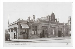 VINCENNES  (cpa 94)   La Gare - Carte Photo -  - L 1 - Vincennes