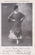 ZAMBELLI, OPERA. COLLECTION ARTISTIQUE DU VIN DESILES. H. MANUEL PARIS. S.I.P. MANILET PH D'ART. CIRCA 1900s. TBE -BLEUP - Femmes Célèbres