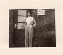 Vintage Girl Original Photo - Pin-up
