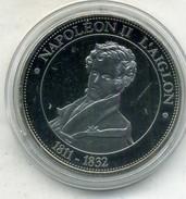 Médaille Comemo,napoléon Bonaparte.NAPOLEON II L AIGLON  ,(très Bon état Les Trace Sont Dû A Mon Scann.) - Royal / Of Nobility