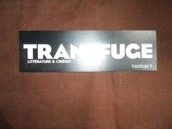 ANCIEN MARQUE PAGE  / PUB  TRANSFUGE / LITTERATURE & CINEMA - Marque-Pages