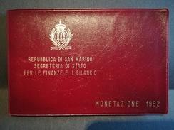 SAN MARINO - NUMISMATICA - Anno 1992 - Divisionale - 500° Scoperta America - Tiratura 36.000 - San Marino
