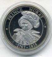 Médaille Comemo,napoléon Bonaparte...PRINCE MURAT ,(très Bon état Les Trace Sont Dû A Mon Scann.) - Royal / Of Nobility