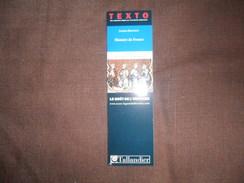 ANCIEN MARQUE PAGE  / PUB  TEXTO / LE GOUT DE L' HISTOIRE / TALLANDIER - Marque-Pages