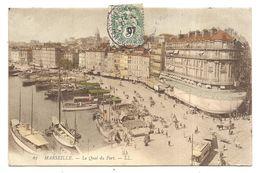 Marseille , Le Quai Du Port  - -- -- - Old Port, Saint Victor, Le Panier