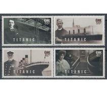 2012 - IRLANDA / IRELAND - CENTENARIO DEL NAUFRAGIO DEL TITANIC / CENTENARY OF THE SINKING OF THE TITANIC. MNH - 1949-... Repubblica D'Irlanda