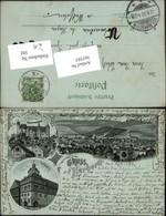 365583,Mond Litho Gruß Aus Herborn Totale Schloss Rathaus Mehrbildkarte - Non Classificati