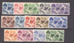Côte Des Somalis  :  Yv  234-47  * - Frans-Somaliland (1894-1967)
