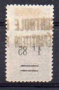 Algérie Colis-Postaux N° 35 Neuf * - Variété 'Surcharge 1F85 Recto-verso' - Parcel Post